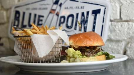 Blue Point Brewing Co.'s new location, an underground