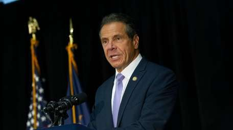 Gov. Andrew M. Cuomo first threatened to sue