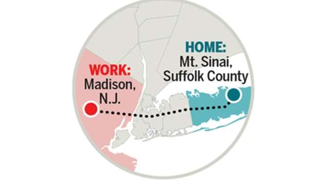 Going the extra mile: Long Island's 'extreme commuters