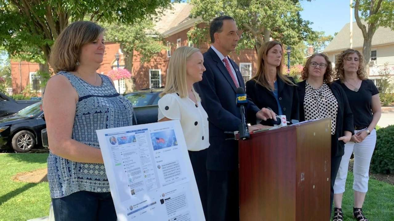 On Friday, Democratic candidates for Oyster Bay Town