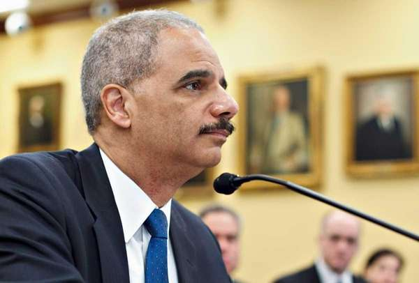A file photo of Attorney General Eric Holder