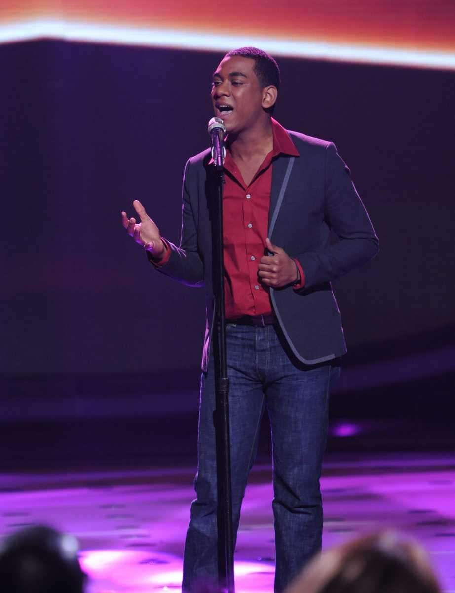 "Joshua Ledet performs ""You Pulled Me Through """