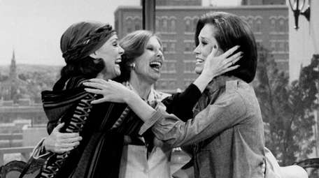 From left, Valerie Harper, Cloris Leachman and Mary