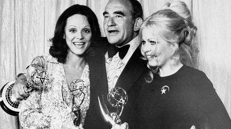 From left, Valerie Harper, Ed Asner and Sally