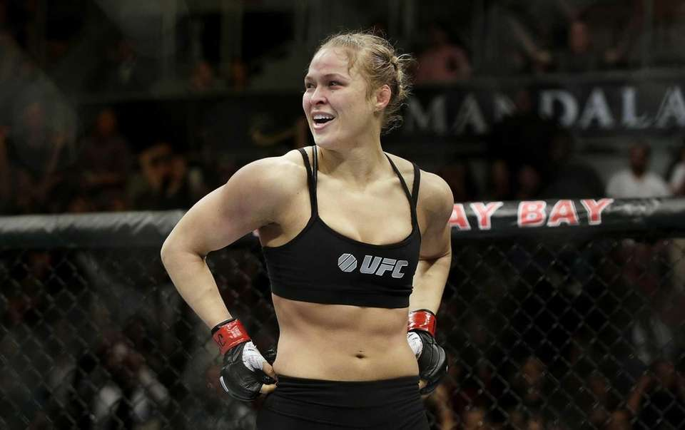 Rousey turned to mixed martial arts in 2010