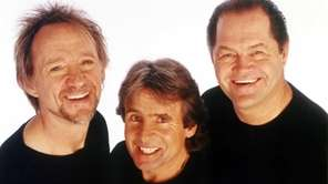 Peter Tork, Davy Jones and Mickey Dolenz from