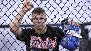 Mixed Martial Artist Al Iaquinta of Wantagh will
