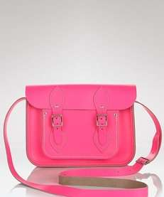 The Cambridge Satchel Company fluorescent satchel in electric