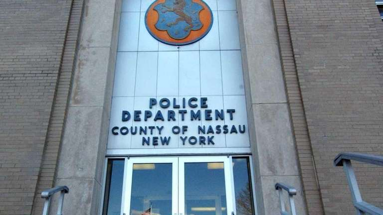 A file photo of the Nassau County Police