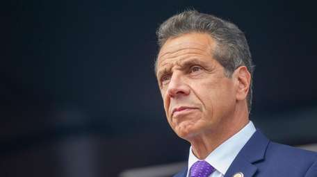 Gov. Andrew M. Cuomo says New York stands