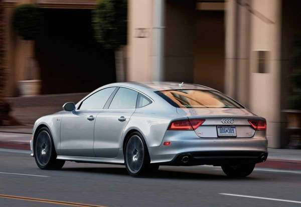 Prices for the 2012 Audi A7 -- a