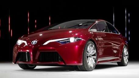 The Toyota NS4 plug-in hybrid concept debuts at