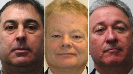 Alan Sharpe, William Flanagan and John Hunter pleaded