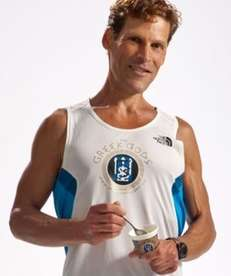 Greek Gods yogurt spokesman Dean Karnazes.