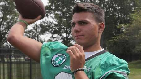 Nick Lundin, Farmingdale High School during the Newsday