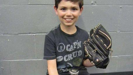 Matthew Levine, 8, who suffers from FSGS, an