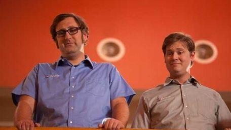 Eric Wareheim, left, and Tim Heidecker in