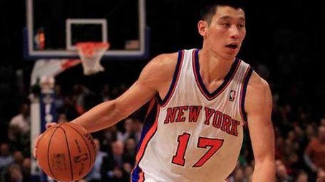 Jeremy Lin #27 of the New York Knicks.