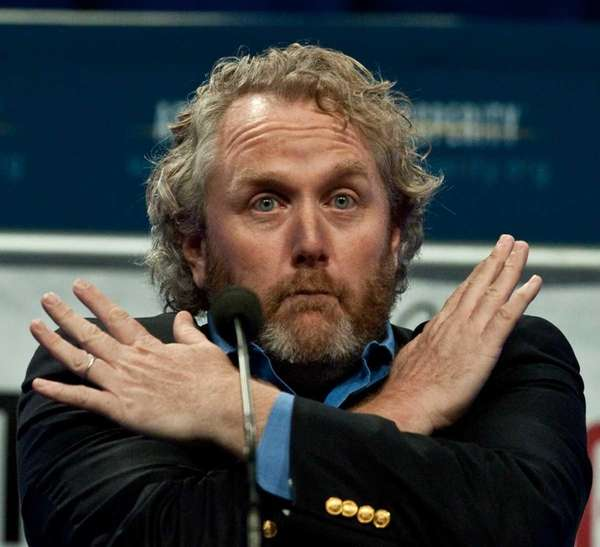 Andrew Breitbart, editor and founder of BigGovernment.com political