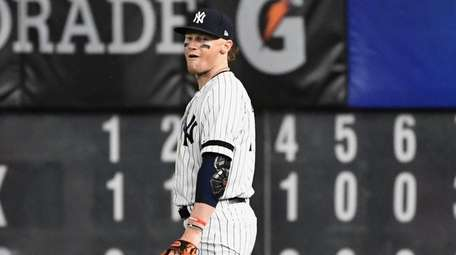 Yankees rightfielder Clint Frazier is booed by fans