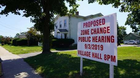 Farmingdale officials are proposing an area on Fulton