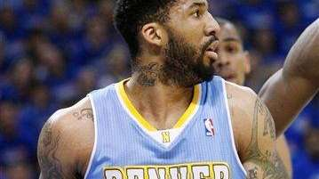 Denver Nuggets guard Wilson Chandler in Game 2