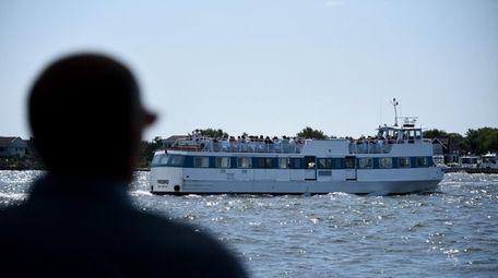 "File photo of the ""Firebird"" ferry."