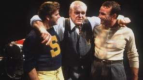 Actors Kevin Anderson, left, Brian Dennehy, center, and