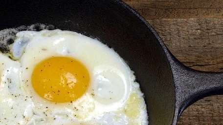 food section story - on eggs - cooked