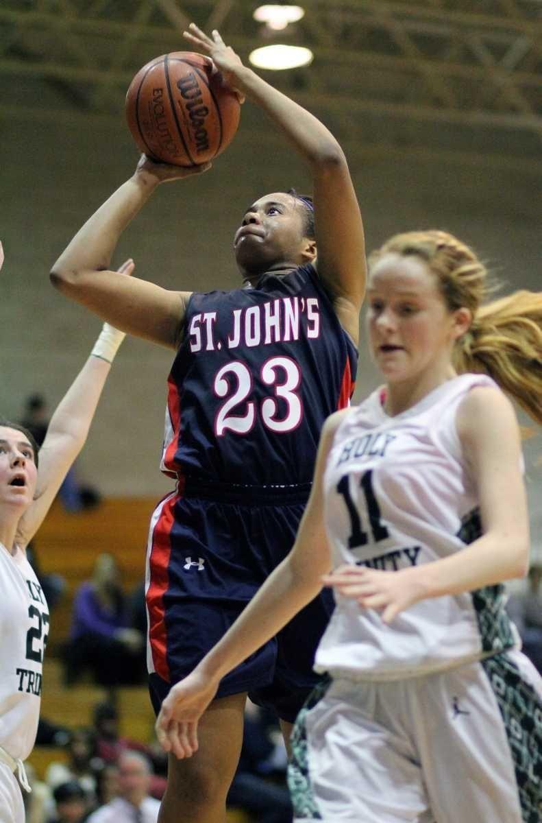 St. John the Baptist's Anastasia Williams hits the