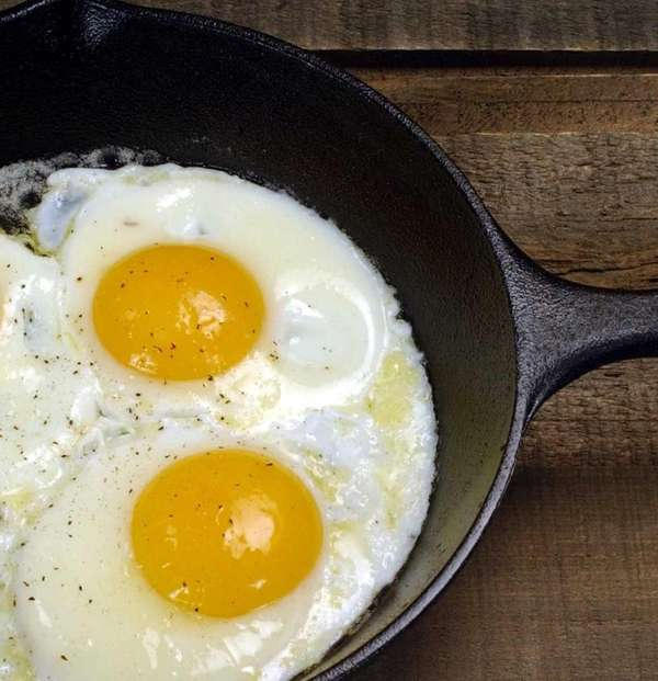 Egg yolks, among plenty of other foods, are
