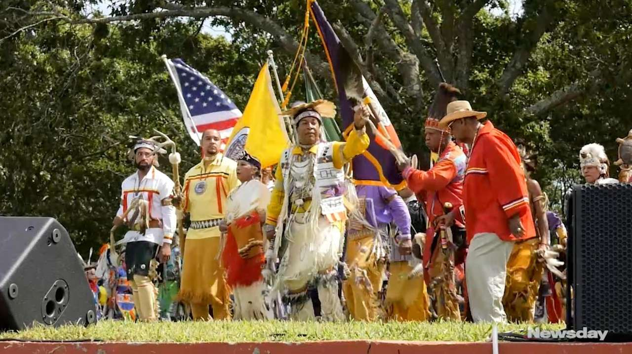The Shinnecock Nation hosted a Pow Wow celebration