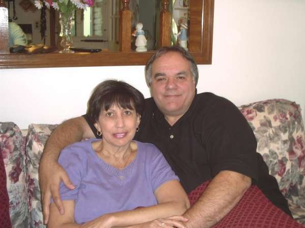 Susan and Joe Satriano celebrate Easter in 2004.
