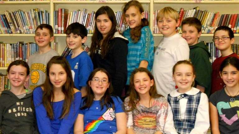 Lynbrook fifth-graders from West End Elementary finished first