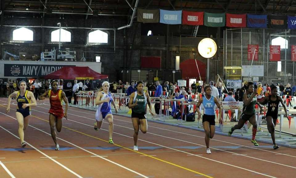Valencia Hannon of Elmont ran 7.22 in the