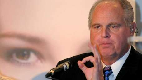 Radio talk-show host Rush Limbaugh (Jan. 27, 2010)