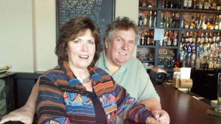 Diane and Dennis Harkoff, owners of Legends restaurant