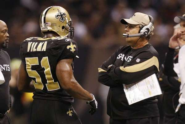 Jonathan Vilma of the New Orleans Saints talks