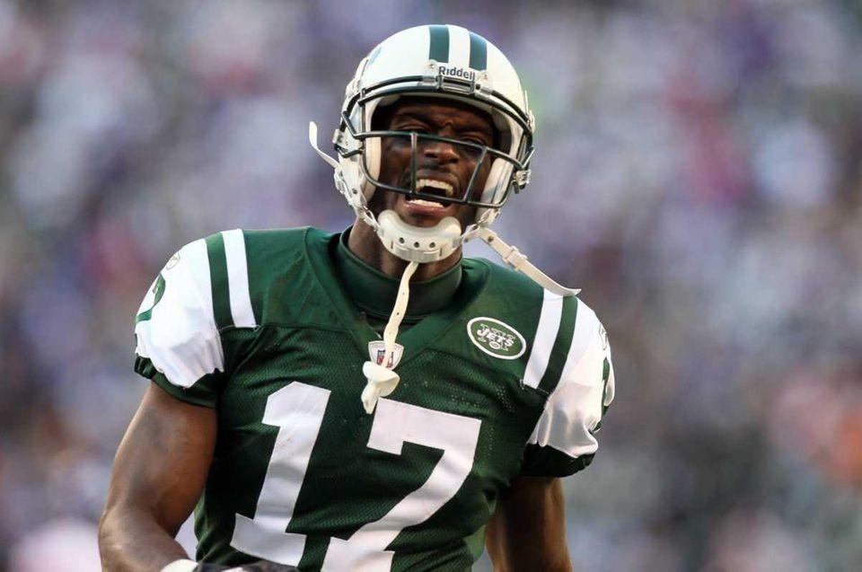 PLAXICO BURRESS Wide receiver, Jets 2011 stats: 45