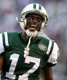 PLAXICO BURRESS Wide receiver, Jets 2011 stats: 45
