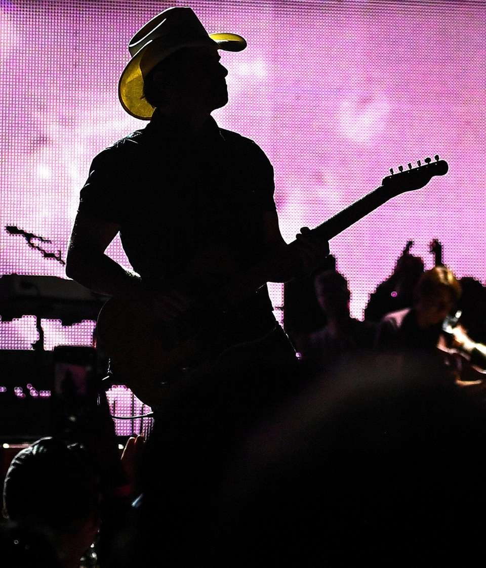 Brad Paisley performs at the Northwell Theater at