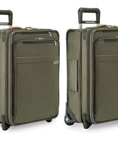 Briggs & Riley's new expandable carry-on luggage.