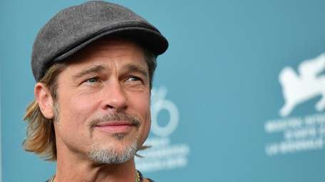 """Brad Pitt attends a photocall for """"Ad Astra"""""""