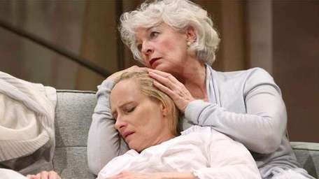 """Laila Robins, left, and Jane Alexander in """"The"""