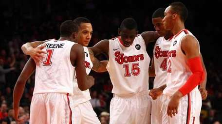 """Fresh Five."" Phil Greene, D'Angelo Harrison, Sir'Dominic Pointer,"