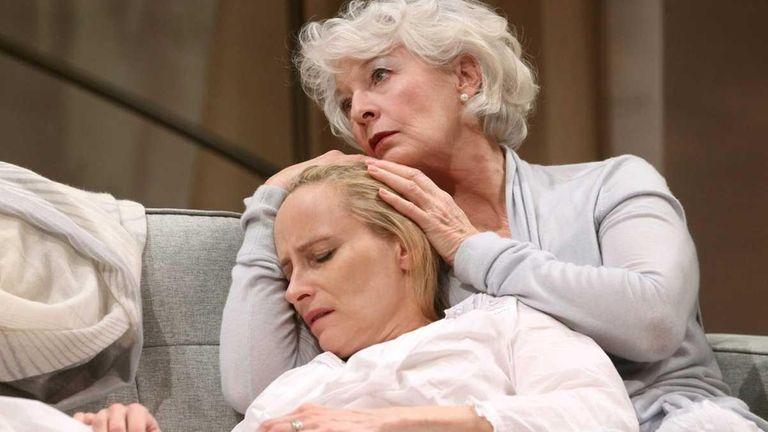 Laila Robins, left, as Jo and Jane Alexander