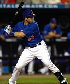 Vinny Rottino #30 of the New York Mets