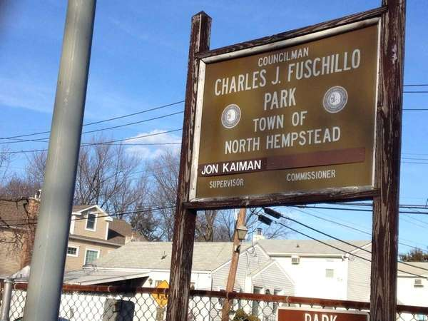 Charles J. Fuschillo Park in Carle Place is
