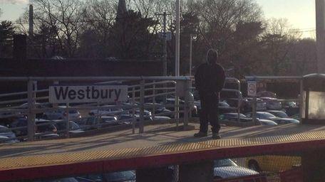 The Westbury Long Island Rail Road station is
