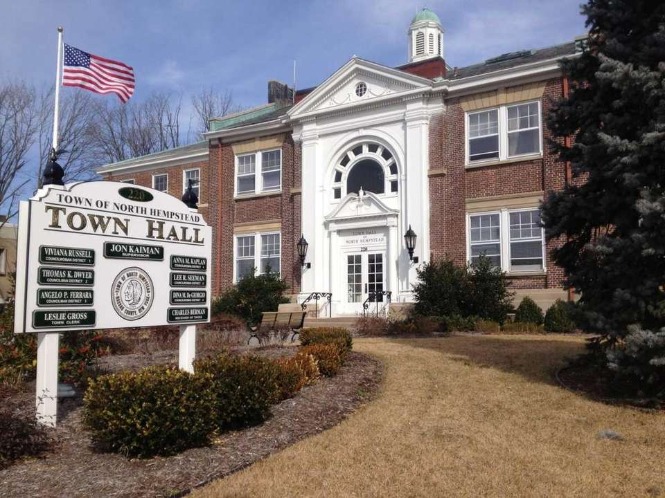 North Hempstead Town Hall in Manhasset on March